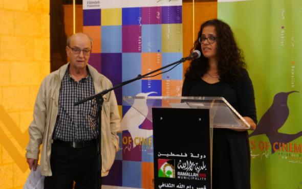 Anandi Ramamurthy; George Khleifi; Sunbird Award