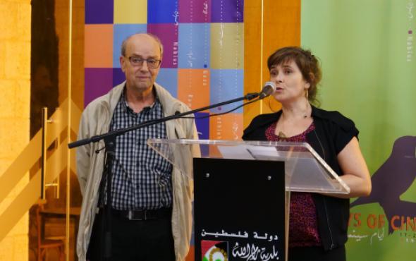 George Khleifi; Alexandra Dols; Sunbird Award