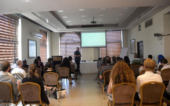Palestine Film Meetings ; Johnny Andersen